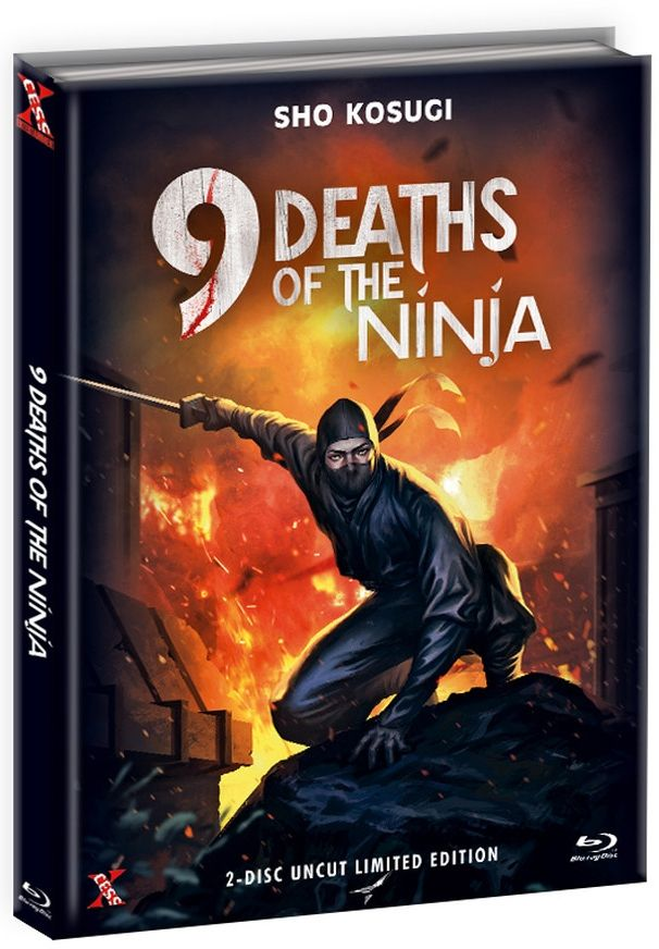 9 Leben der Ninja, Die (Lim. Uncut Mediabook - Cover C) (DVD + BLURAY)