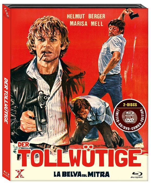 Tollwütige, Der (Lim. Uncut Edition) (DVD + BLURAY)