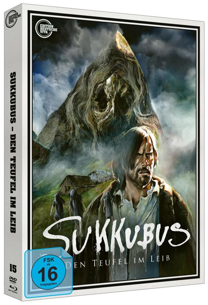 Sukkubus - Den Teufel im Leib (Lim. Uncut Edition - Cover B) (DVD + BLURAY)