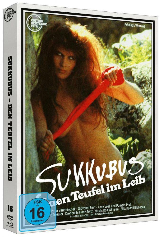 Sukkubus - Den Teufel im Leib (Lim. Uncut Edition - Cover A) (DVD + BLURAY)