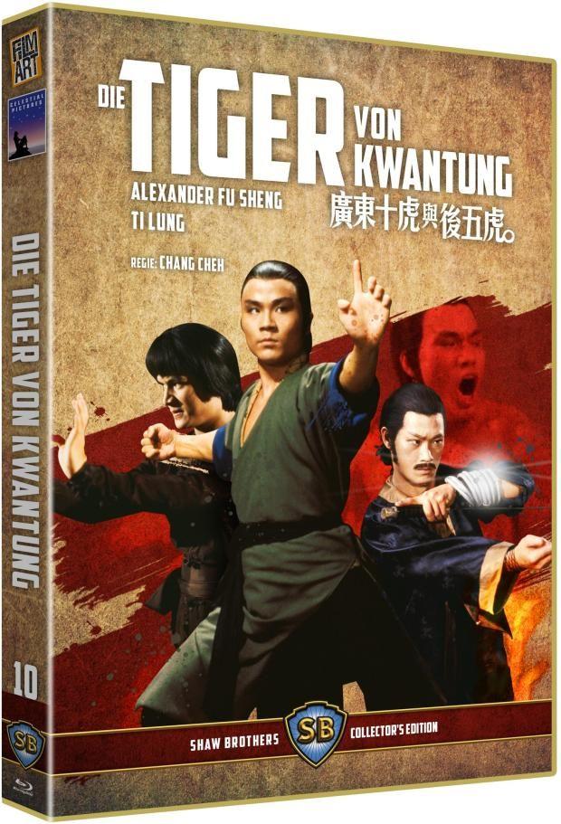 Tiger von Kwantung, Die (Lim. Uncut Edition) (DVD + BLURAY)