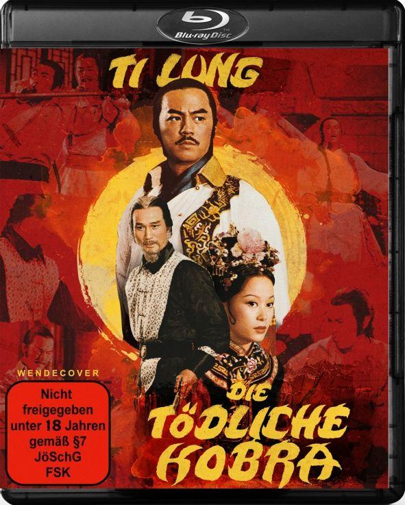 Ti Lung - Die tödliche Kobra (Lim. Edition) (DVD + BLURAY)