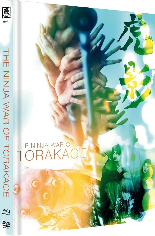 Ninja War of Torakage, The (OmU) (Lim. Uncut Mediabook - Cover C) (DVD + BLURAY)