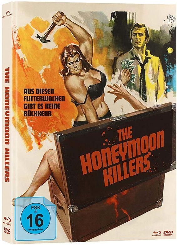 Honeymoon Killers, The (Lim. Uncut Mediabook - Cover B) (DVD + BLURAY)