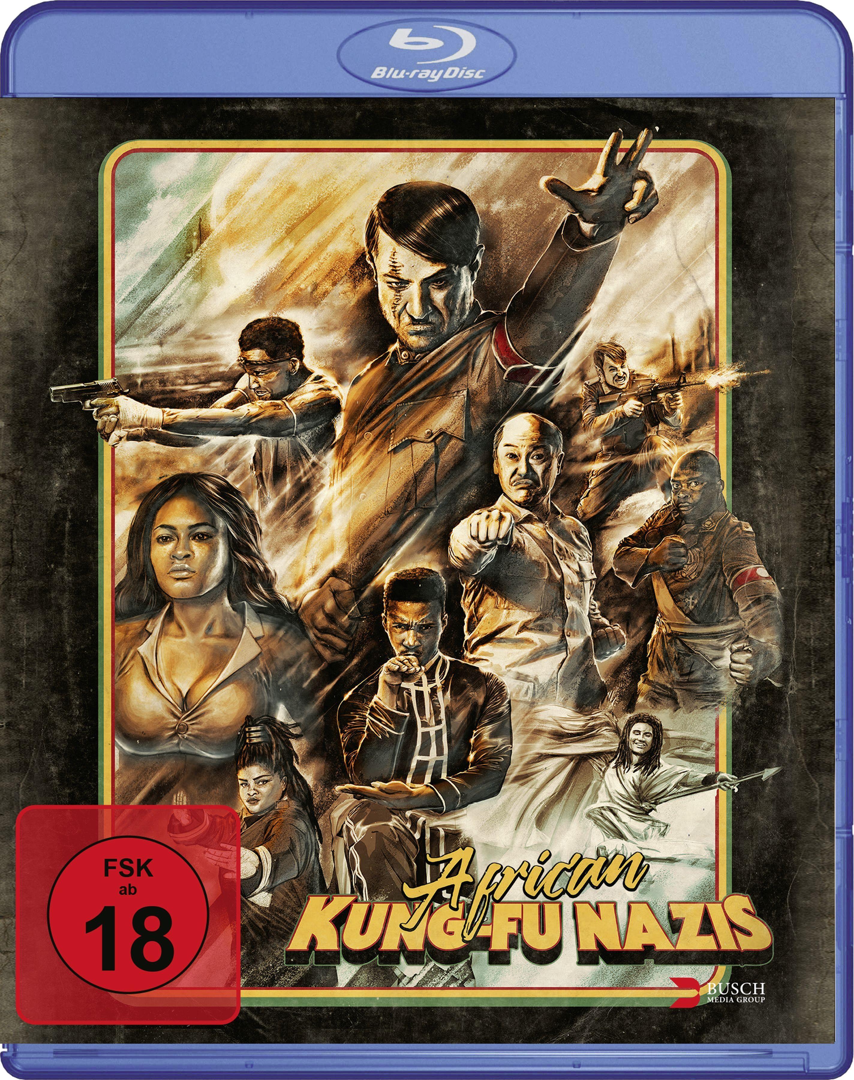 African Kung-Fu Nazis (BLURAY)