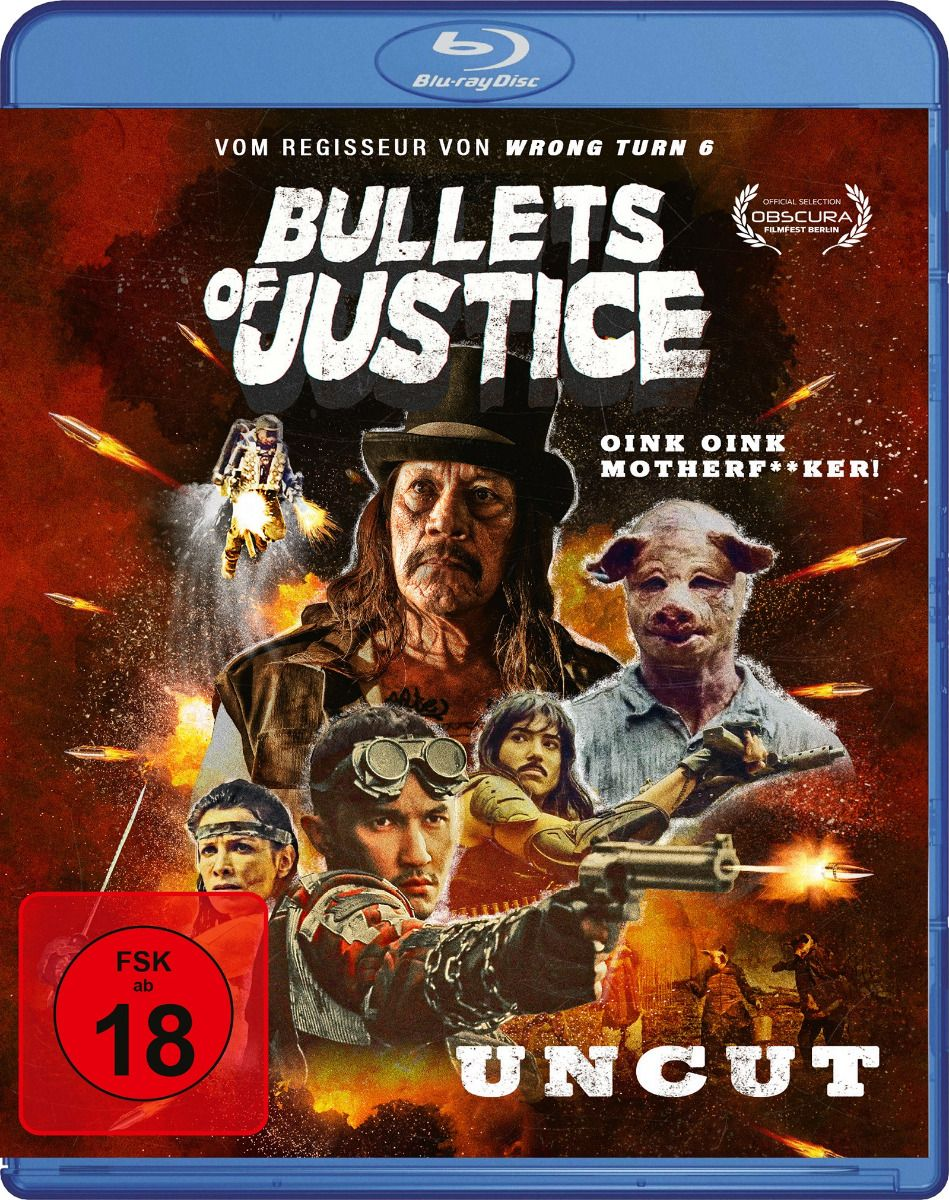 Bullets of Justice (BLURAY)