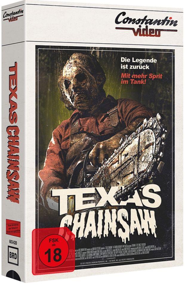 Texas Chainsaw (2013) (Lim. VHS-Design Edition) (BLURAY)