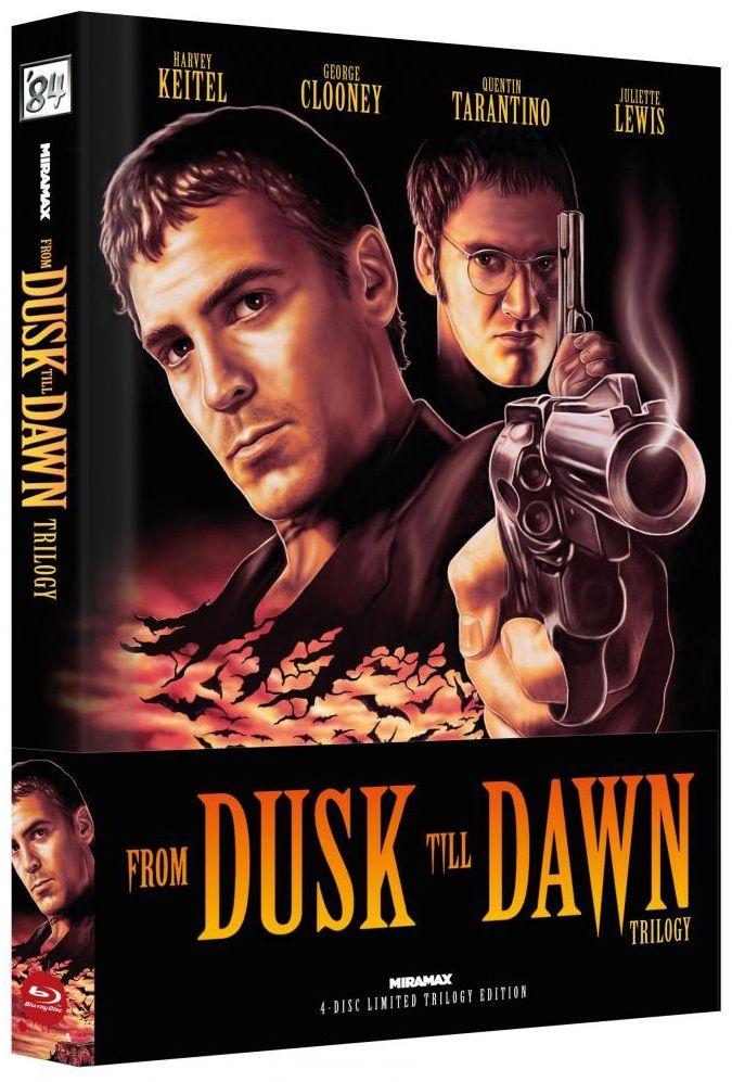 From Dusk Till Dawn Trilogy (Lim. Uncut Wattiertes Mediabook - Cover A) (4 Discs) (BLURAY)