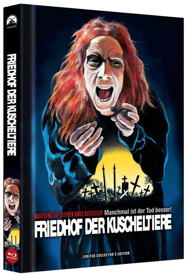 Friedhof der Kuscheltiere - Manchmal ist der Tod besser! (Lim. Uncut Mediabook - Cover C) (BLURAY)