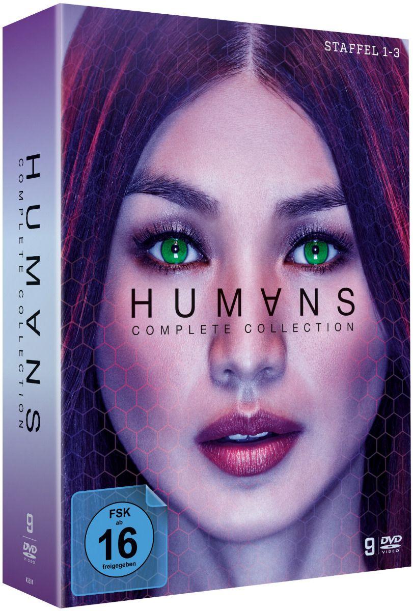 Humans - Die Komplette Serie (9 Discs)