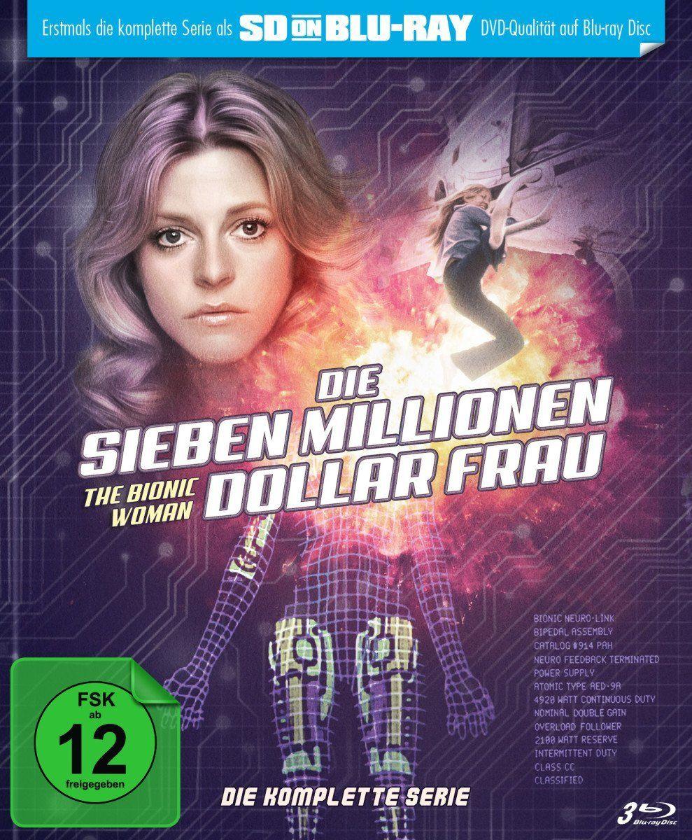Sieben Millionen Dollar Frau, Die - Die komplette Serie (Lim. Mediabook) (SD on Blu-ray) (3 Discs) (BLURAY)