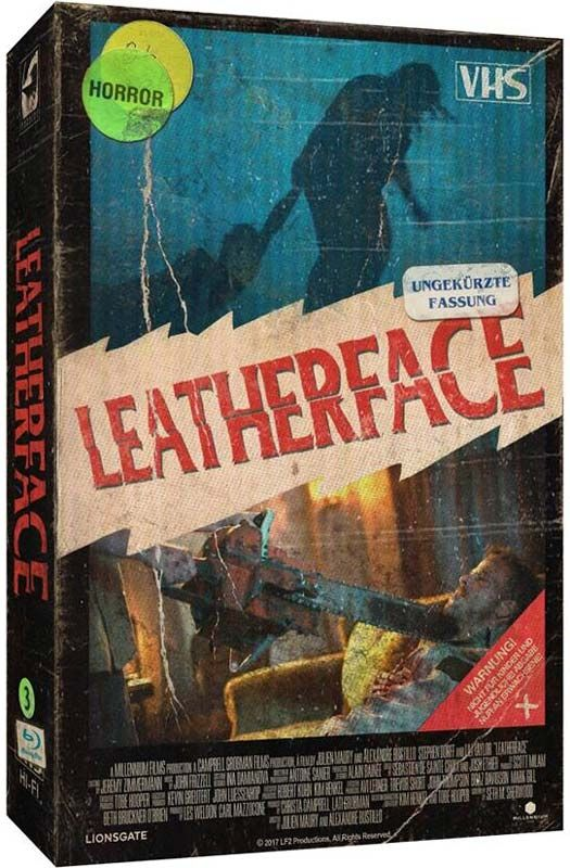 Leatherface (Lim. VHS-Design Edition) (DVD + BLURAY)