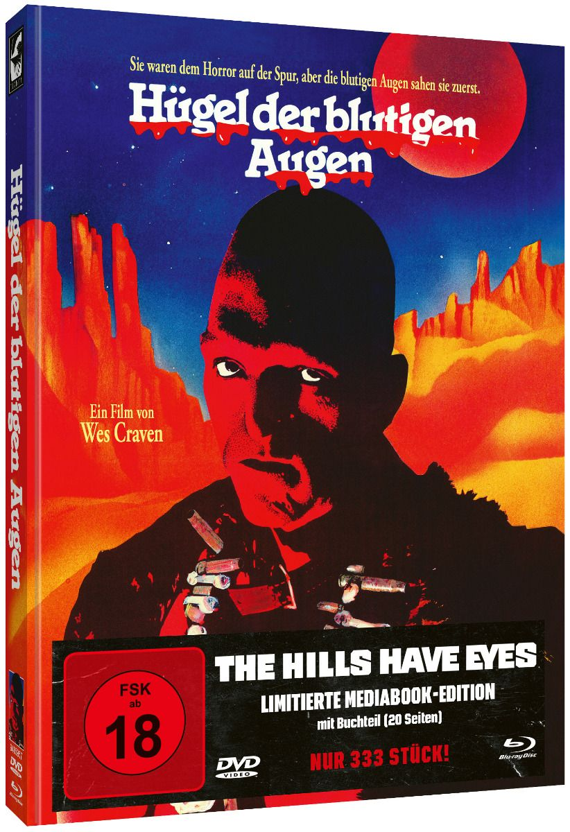 Hills Have Eyes, The (Lim. Uncut Mediabook - Cover A) (DVD + BLURAY)