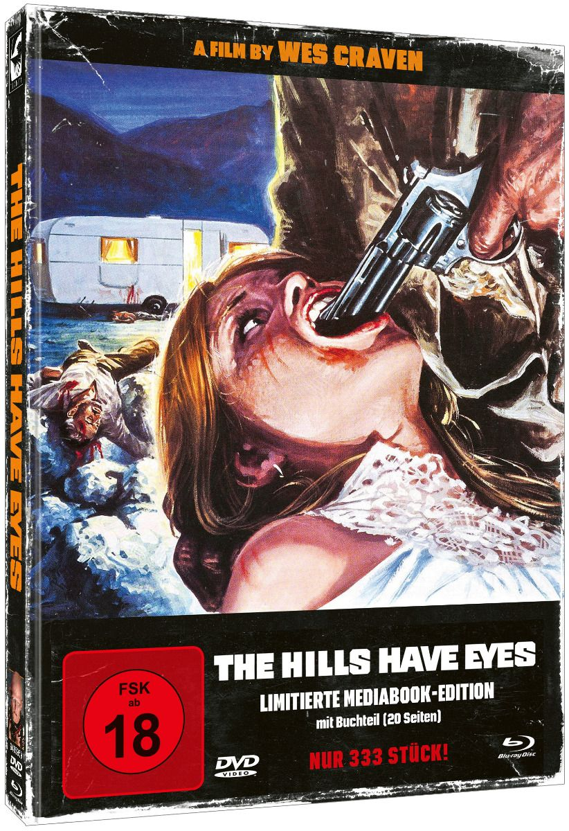 Hills Have Eyes, The (Lim. Uncut Mediabook - Cover B) (DVD + BLURAY)