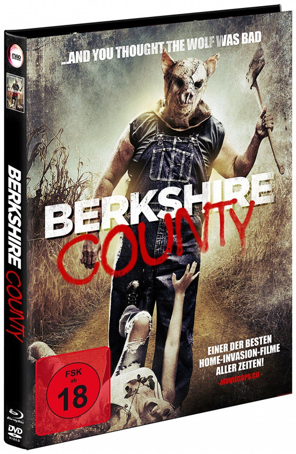 Berkshire County (Lim. Uncut Mediabook) (DVD + BLURAY)
