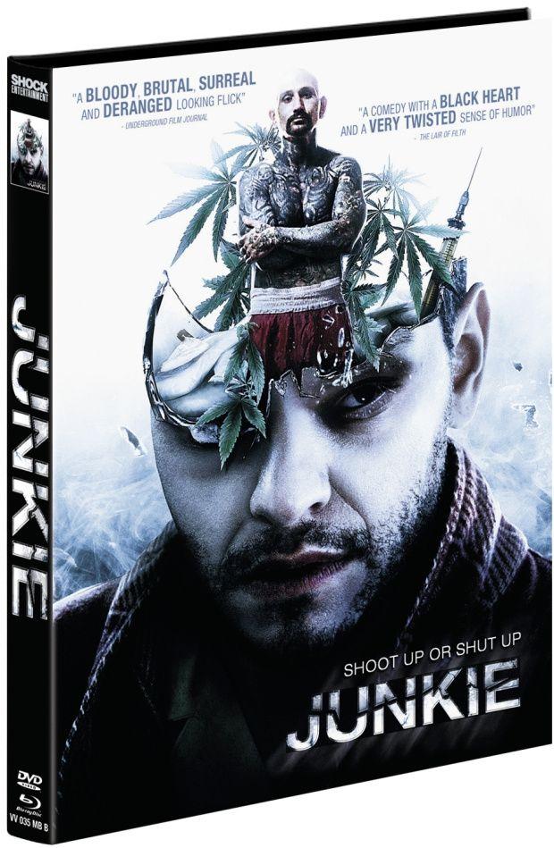 Junkie (Lim. Uncut Mediabook - Cover B) (DVD + BLURAY)