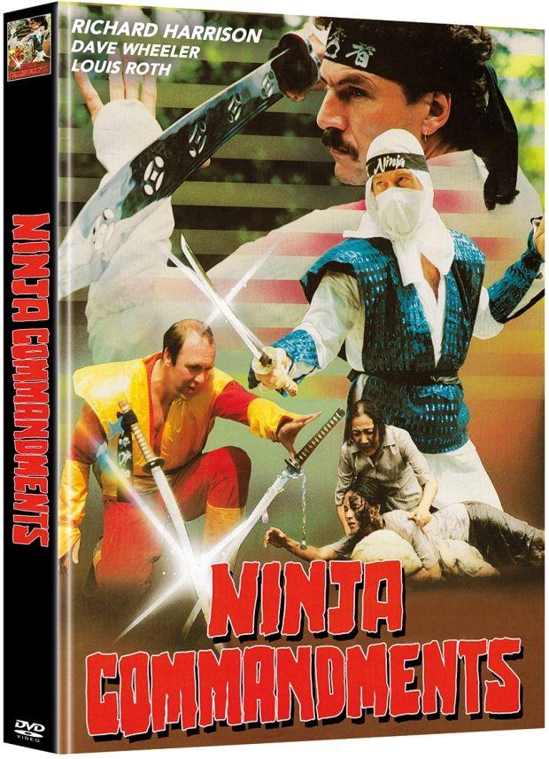 Ninja Commandments (Lim. Uncut Mediabook - Cover B) (2 Discs)