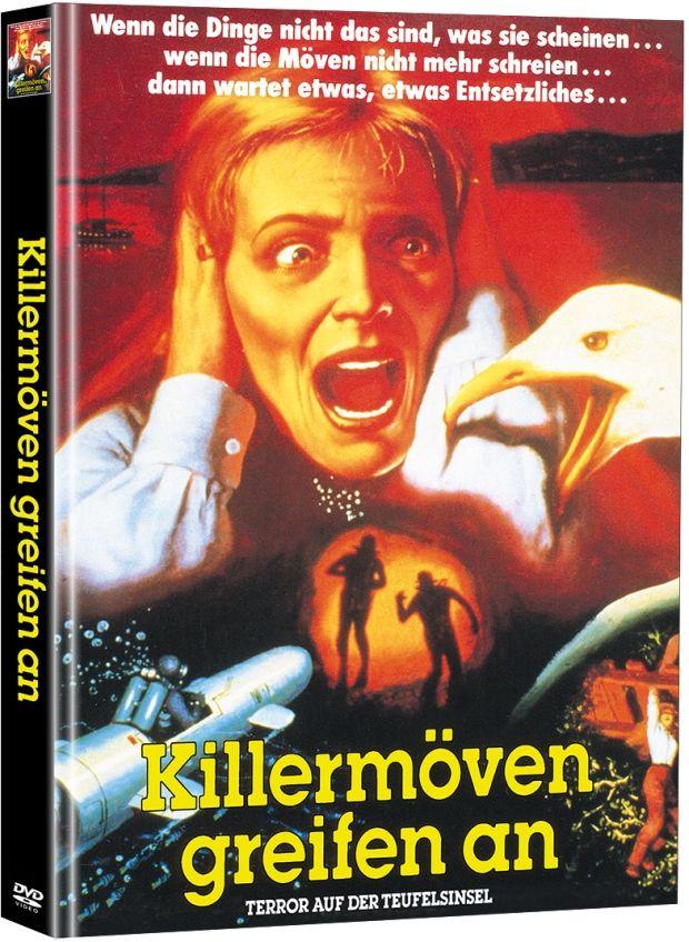 Killermöven greifen an (Lim. Uncut Mediabook) (2 Discs)