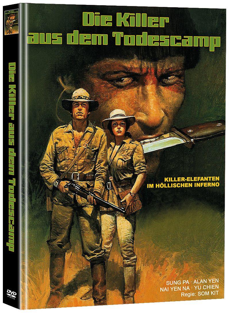 Killer aus dem Todescamp, Die (Lim. Uncut Mediabook - Cover A) (2 Discs)