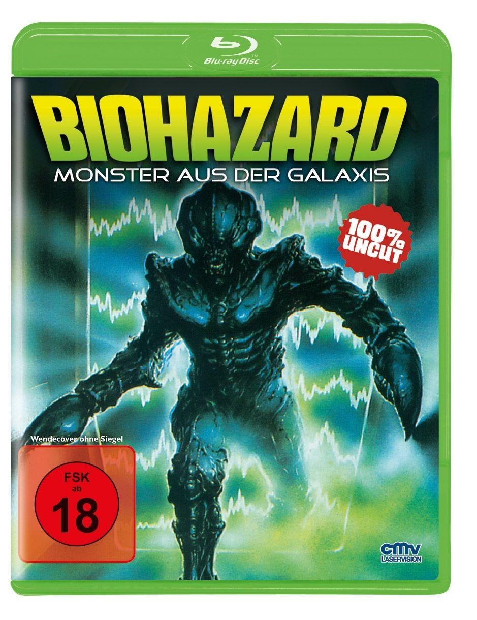 Biohazard - Monster aus der Galaxis (BLURAY)