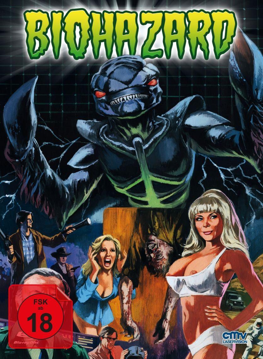 Biohazard - Monster aus der Galaxis (Lim. Uncut Mediabook) (Neuauflage) (DVD + BLURAY)