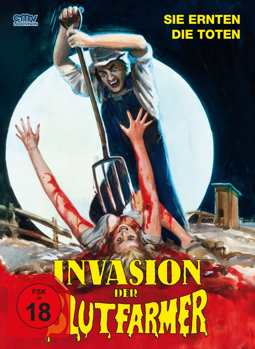 Invasion der Blutfarmer (Lim. Uncut Mediabook - Cover A) (Neuauflage) (DVD + BLURAY)