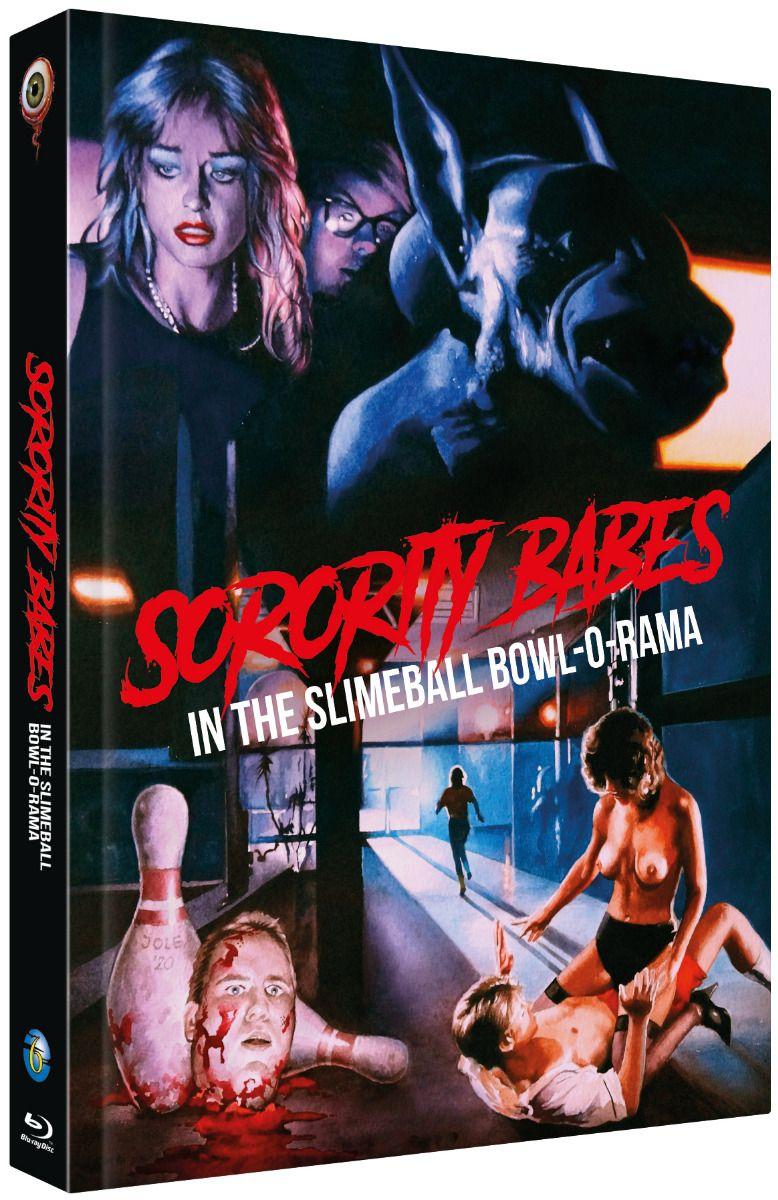 Sorority Babes in the Slimeball Bowl-O-Rama (Lim. Uncut Mediabook - Cover B) (DVD + BLURAY)
