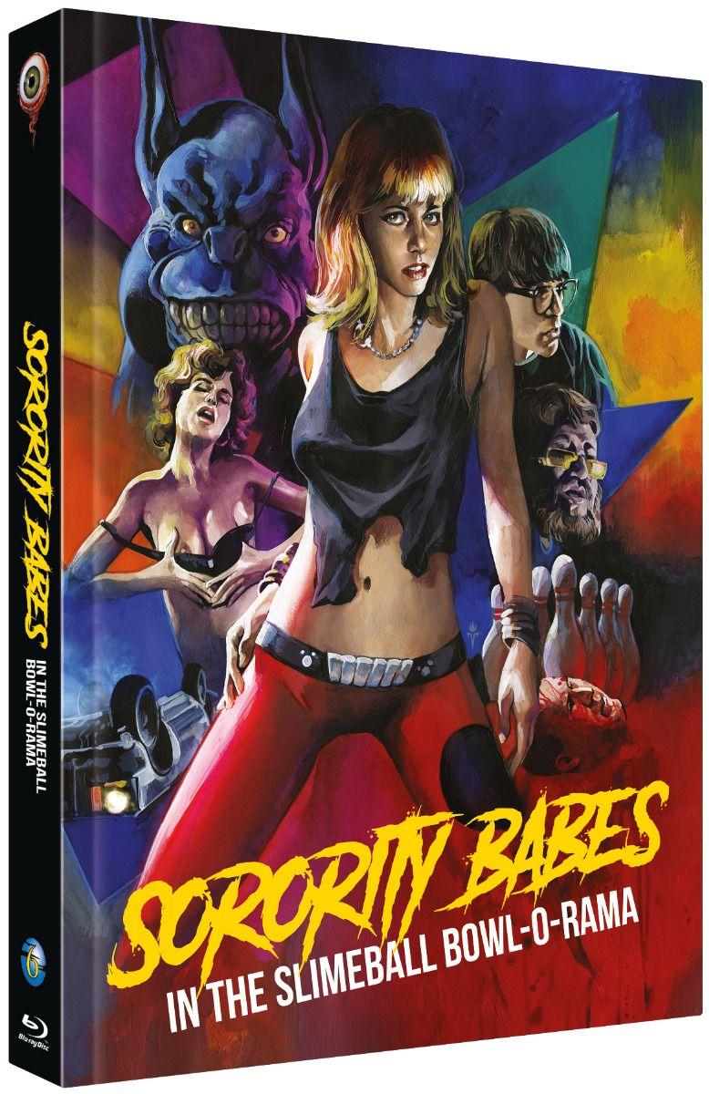 Sorority Babes in the Slimeball Bowl-O-Rama (Lim. Uncut Mediabook - Cover C) (DVD + BLURAY)