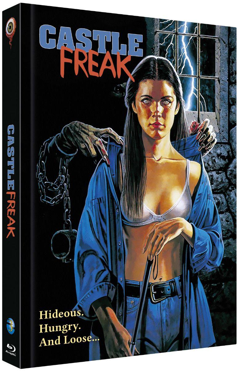 Castle Freak (Lim. Uncut Mediabook - Cover B) (2 Discs) (BLURAY)