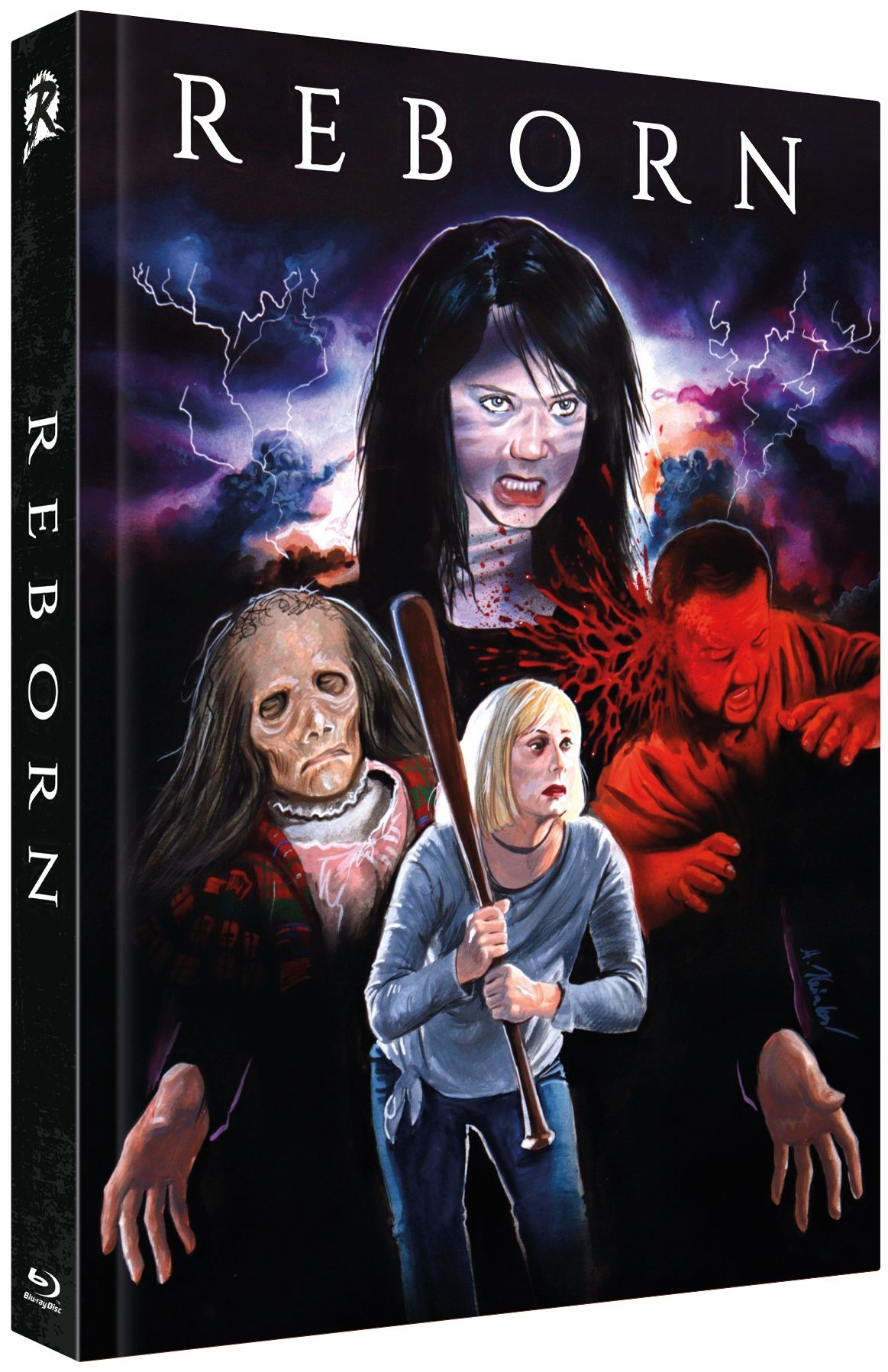Reborn (Lim. Uncut Mediabook - Cover B) (DVD + BLURAY)