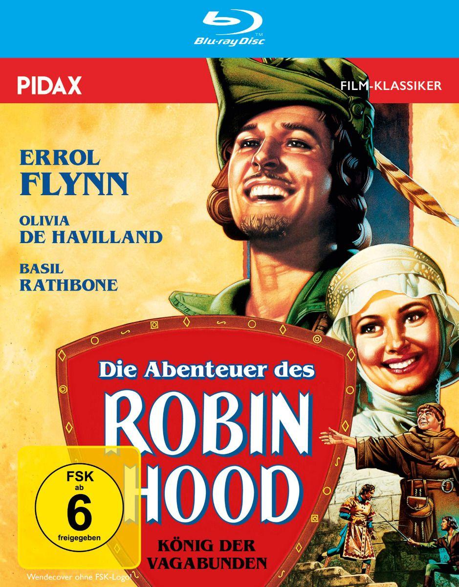Abenteuer des Robin Hood, Die - König der Vagabunden (BLURAY)