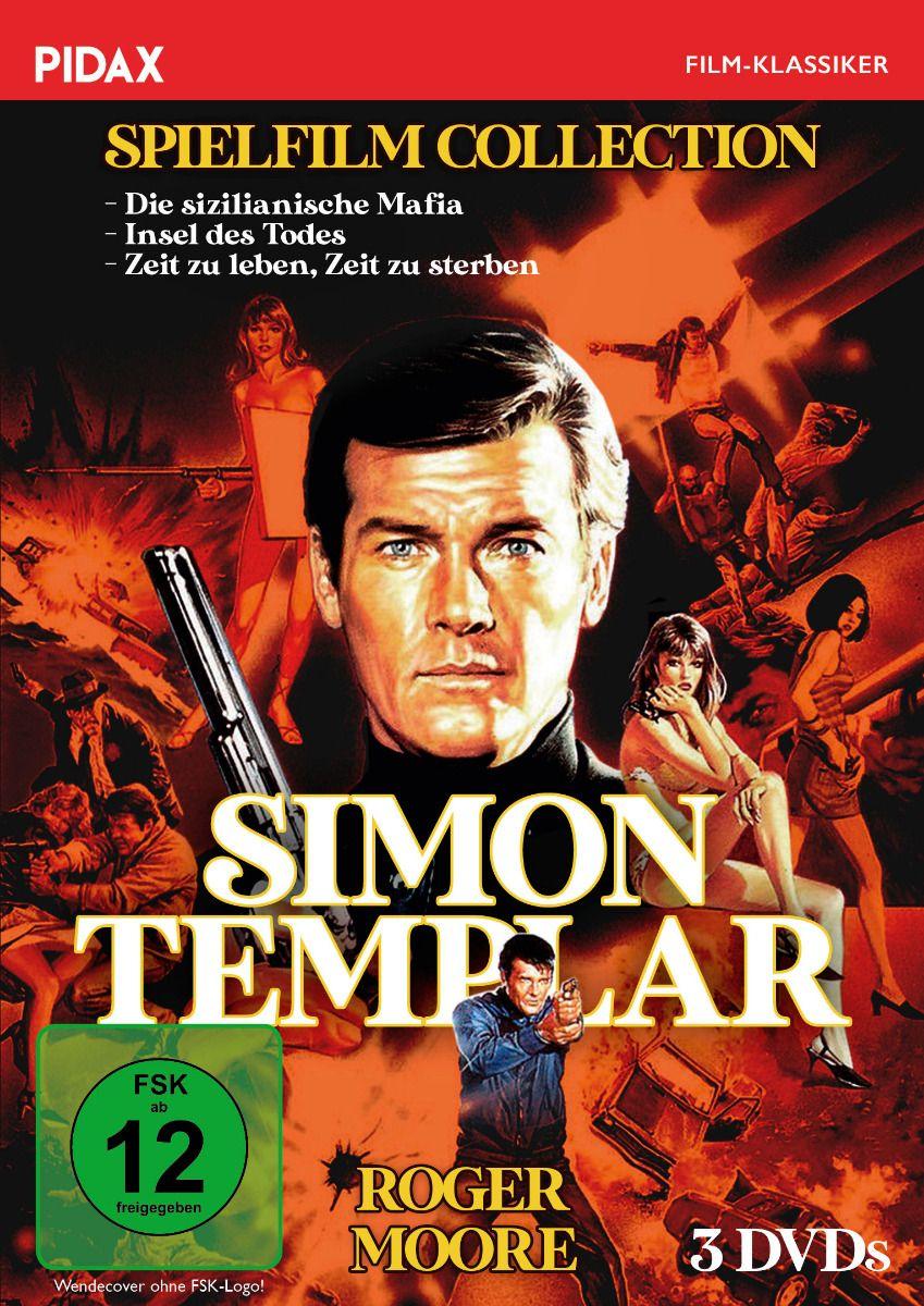 Simon Templar Spielfilm Collection (3 Discs)