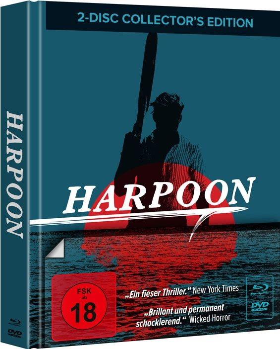 Harpoon (Lim. Uncut Mediabook - Cover B) (DVD + BLURAY)