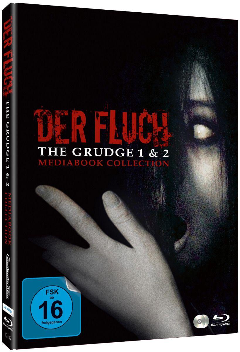 Grudge, The - Der Fluch 1 & 2 (Lim. Uncut Double Feature Mediabook) (2 Discs) (BLURAY)