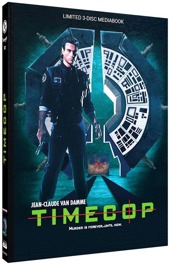 Timecop (Lim. Uncut Mediabook - Cover B) (3 Discs) (DVD + BLURAY)