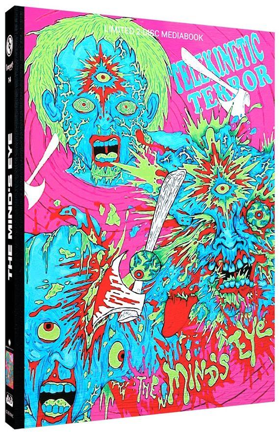 Mind's Eye, The (2015) (Lim. Uncut Mediabook - Cover C) (DVD + BLURAY)
