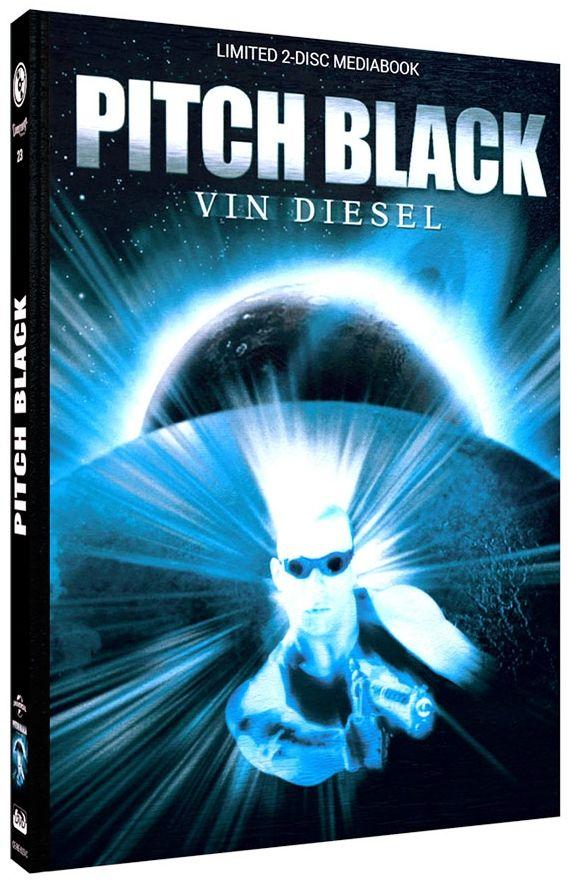Pitch Black - Planet der Finsternis (Lim. Uncut Mediabook - Cover C) (DVD + BLURAY)