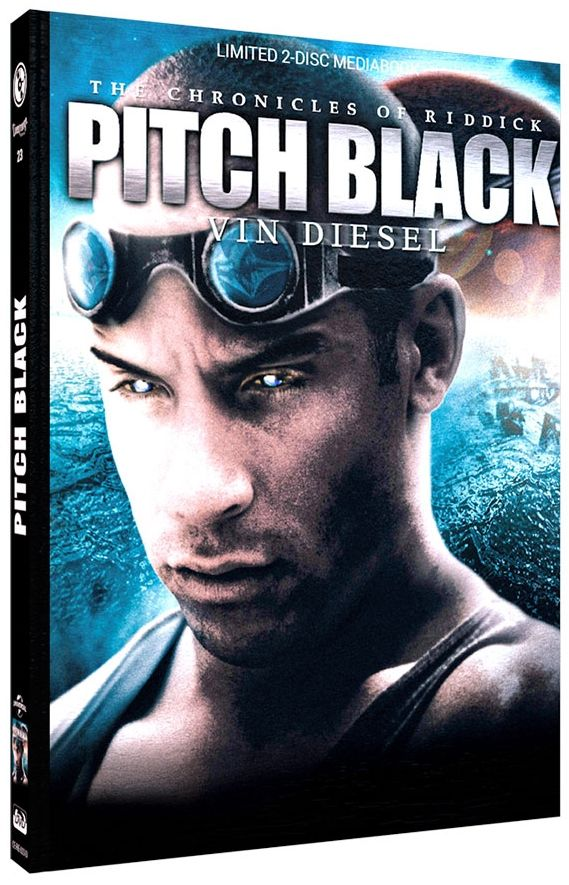 Pitch Black - Planet der Finsternis (Lim. Uncut Mediabook - Cover D) (DVD + BLURAY)