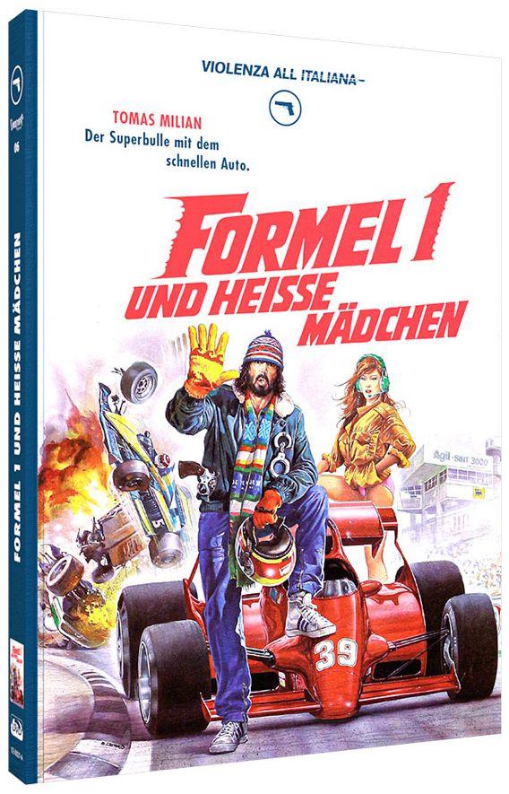 Formel 1 und heiße Mädchen (Lim. Uncut Mediabook - Cover A) (DVD + BLURAY)