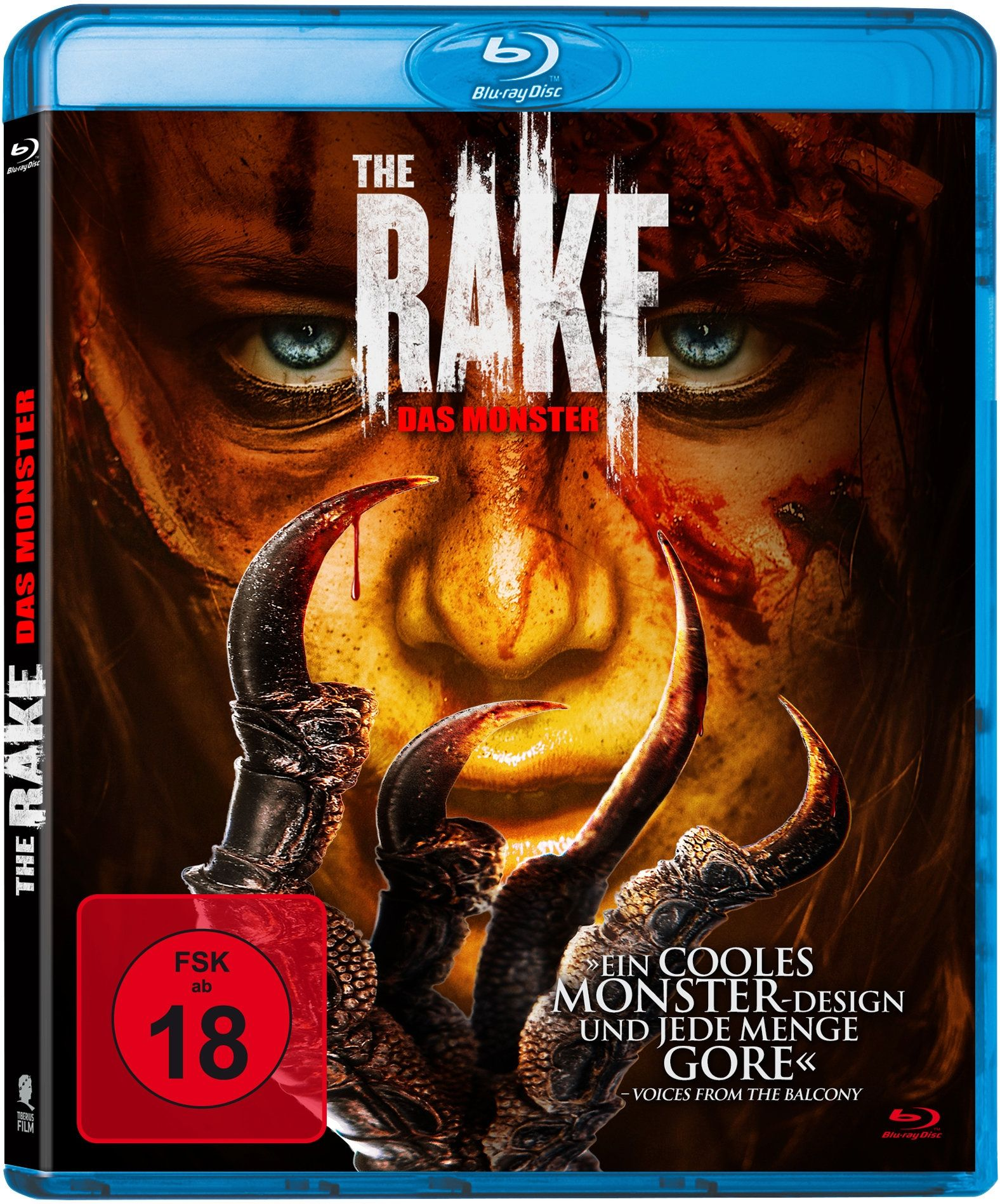 Rake, The - Das Monster (BLURAY)