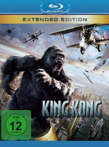 King Kong (Extended Version) (BLURAY)