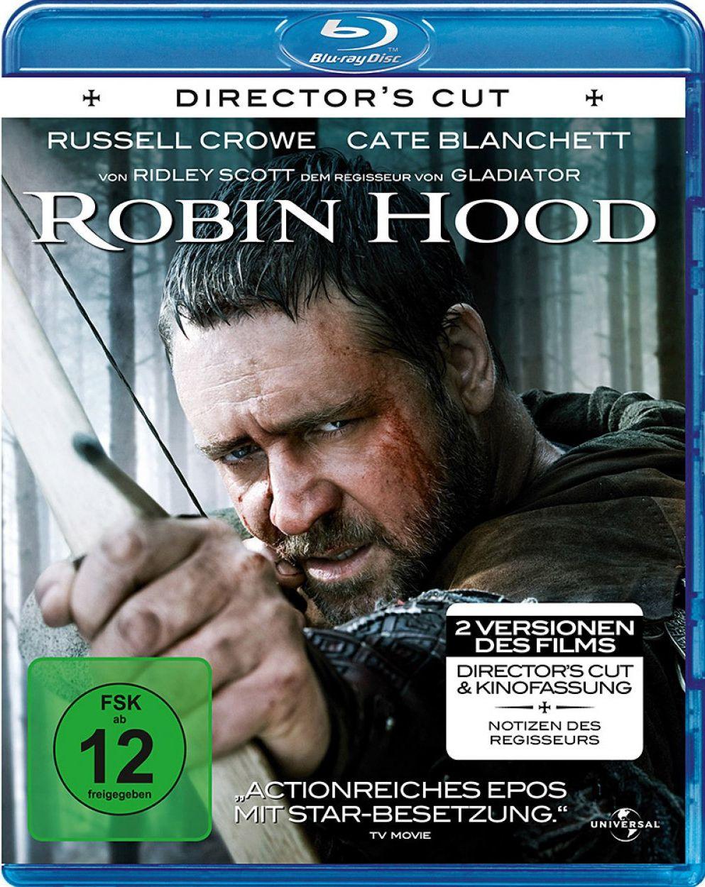 Robin Hood (2010) (Director's Cut) (BLURAY)