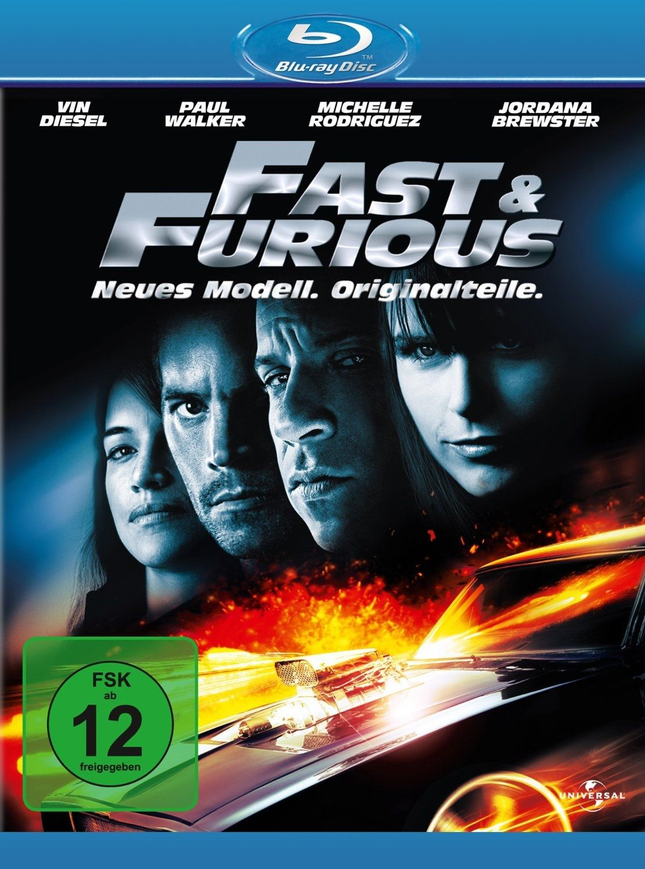 Fast & Furious - Neues Modell. Originalteile. (BLURAY)