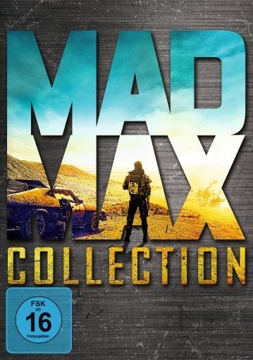 Mad Max 1 - 4 Collection (Uncut) (4 Discs)