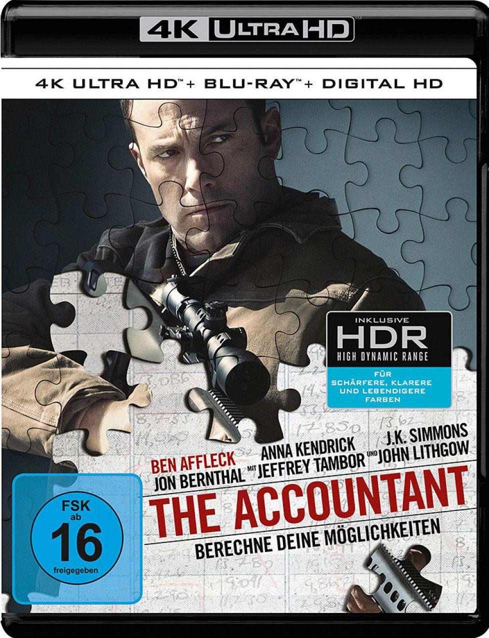 Accountant, The - Berechne Deine Möglichkeiten (2 Discs) (UHD BLURAY + BLURAY)
