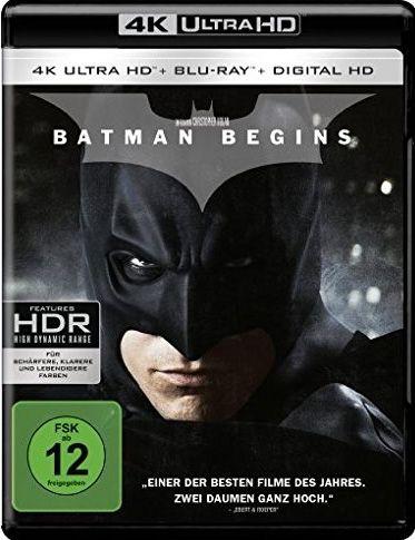Batman Begins (2 Discs) (UHD BLURAY + BLURAY)