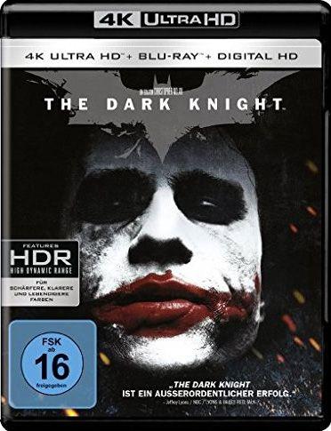 Dark Knight, The (2 Discs) (UHD BLURAY + BLURAY)