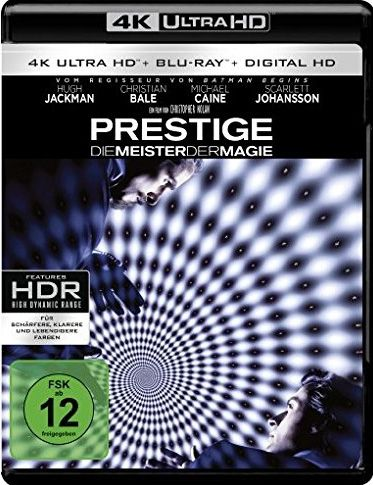 Prestige - Die Meister der Magie (2 Discs) (UHD BLURAY + BLURAY)