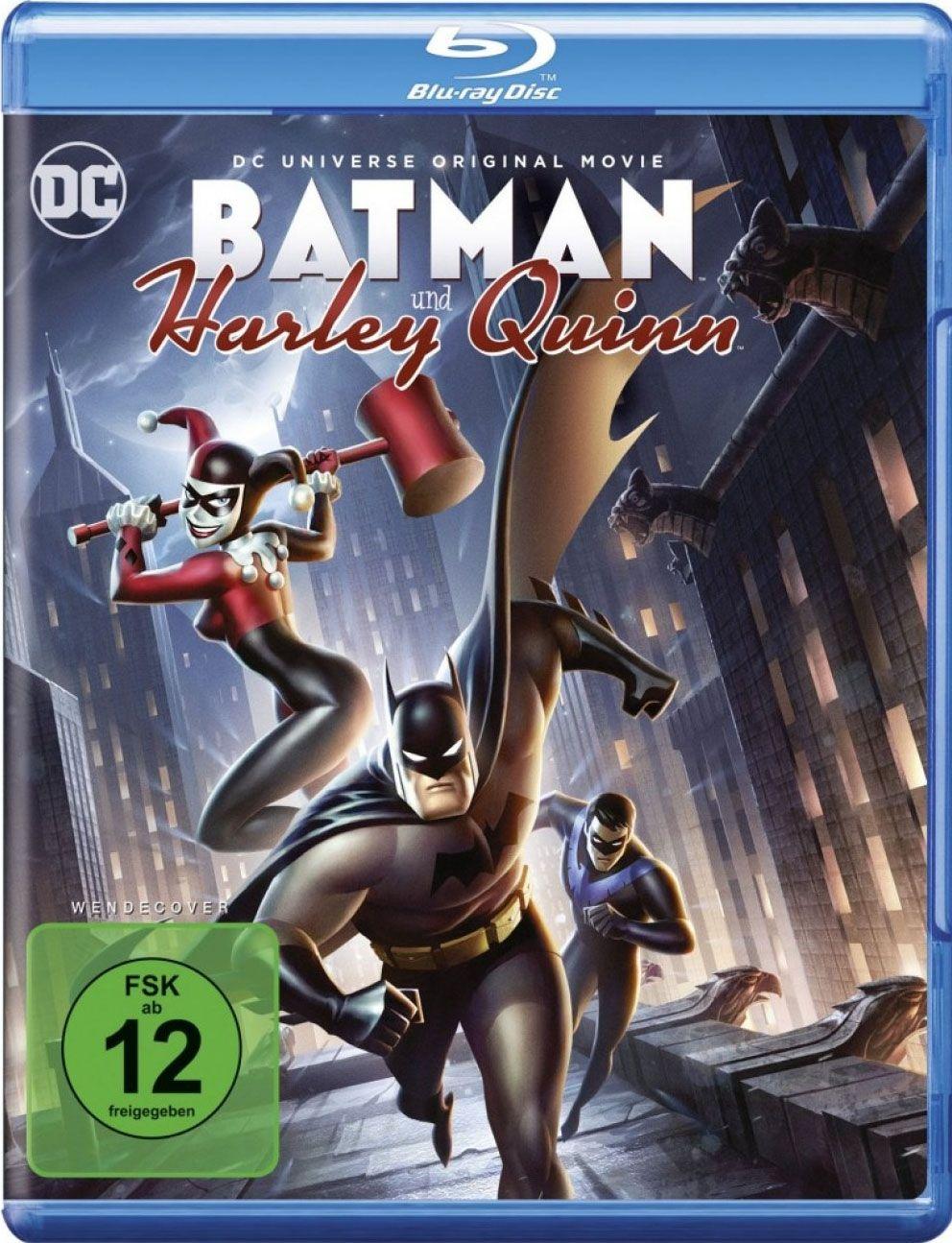 Batman and Harley Quinn (BLURAY)