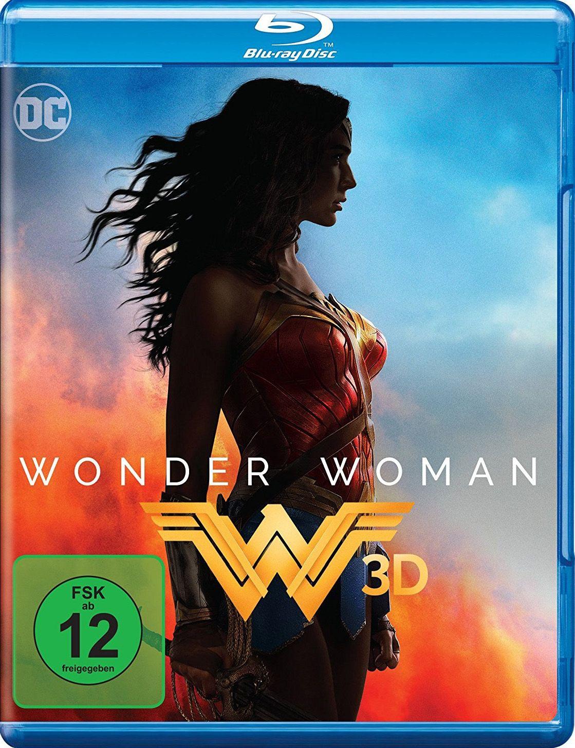 Wonder Woman (BLURAY 3D)